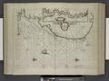 Pascaarte van Engelant, van't voorlant tot Blakeney waer in te sien is de mont van de Teemse; Rivier van London. NYPL1619030.tiff