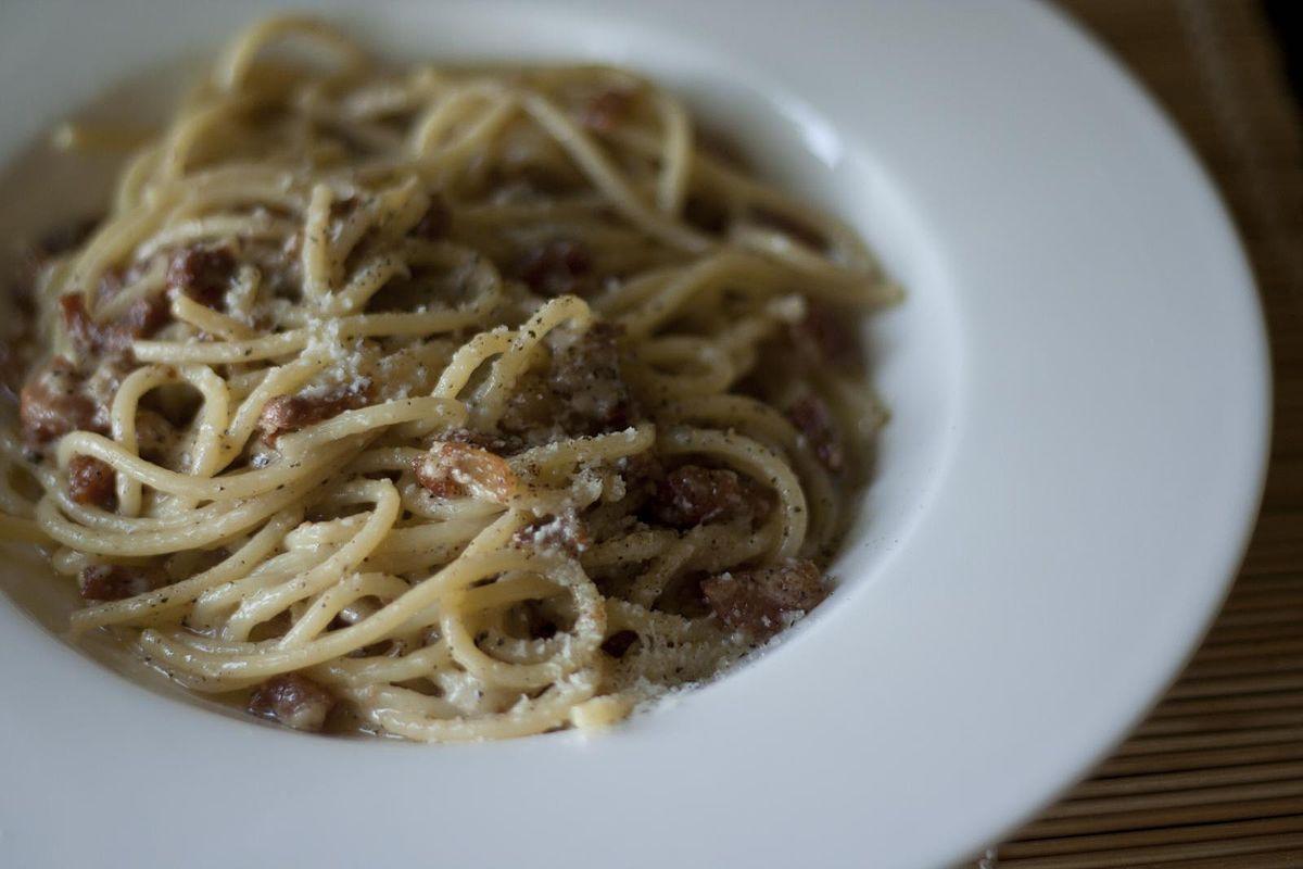 Ricetta Gricia Con Salsiccia.Pasta Alla Gricia Wikipedia
