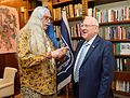 Patch Adams with Reuven Rivlin.jpg