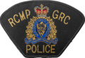 Patch of the Royal Canadian Mountain Police.png