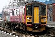 A British Rail Class 153 DMU