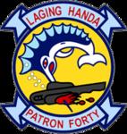 Patrol Squadron 40 (US Navy) insignia 2016.png