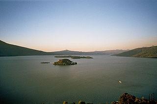 Lake Pátzcuaro lake in Mexico