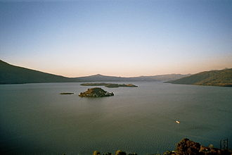 Lake Pátzcuaro - View from Janitzio Island