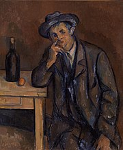 Paul Cézanne - The Drinker (Le Buveur) - BF189 - Barnes Foundation.jpg