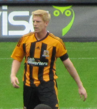 Paul McShane (footballer) - McShane playing for Hull City in 2011
