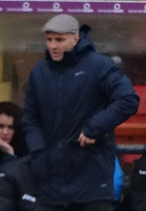 Paul Tisdale - Tisdale managing Exeter City in 2015