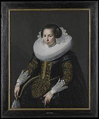 Portrait of Catharina van Voorst (1595-1650)