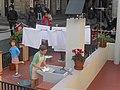 Pecebre en plaza jaume en barcelona - panoramio.jpg