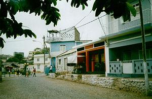 Pedra Badejo - Main Street.