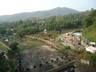 Peechi Dam -  A view of Peechi-Vazhani Wildlife Sanctuary from Peechi Dam