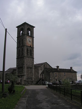 Peglio, Lombardy - the Church of  Eusebio e Vittore