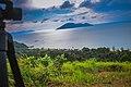 Pemandangan pantai kura kura beach dari atas bukit.jpg