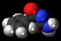 Pemoline molecule spacefill.png