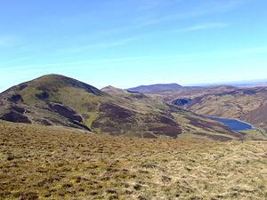 Pentland Hills - The Pentland Hills seen from Turnhouse Hill