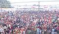 People at Public Information Campaign on Bharat Nirman, at Shahjahanpur, Uttar Pradesh on February 23, 2013.jpg