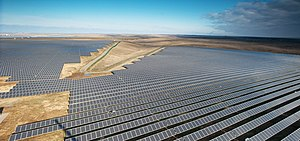 Solar power in Ukraine - Image: Perovosolarstation