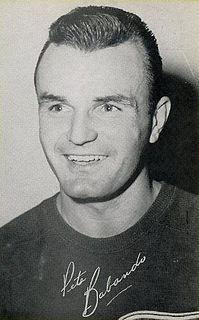Pete Babando Canadian ice hockey player