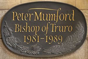 Peter Mumford - Memorial in Truro Cathedral