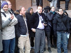 The Pirate Bay trial - Image: Peter gottfried rick marcin 2