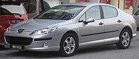 Peugeot 407 (first generation) (front), Serdang.jpg