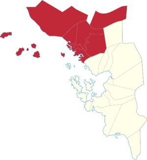 Legislative districts of Samar - 1st District of Samar