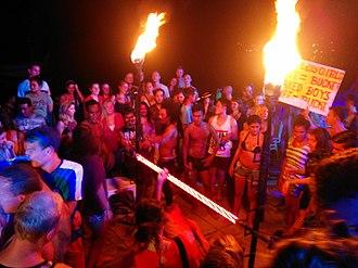 Phi Phi Islands - Phi Phi party