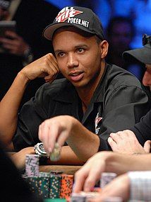 Phil Ivey American poker player