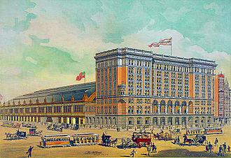 Reading Company - Reading Terminal, circa 1893