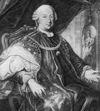Philipp von Cobenzl - Cobenzl in habit of the Order of the Golden Fleece