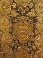 Pianeta con stemma cardinale giacomo serra, in gros de tours laminato, ricamato con argento e oro filato, 1600-1650 ca..JPG