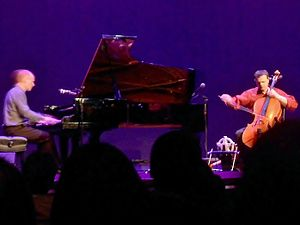 The Piano Guys - The Piano Guys' Schmidt (left) and Nelson (right) perform live in 2002