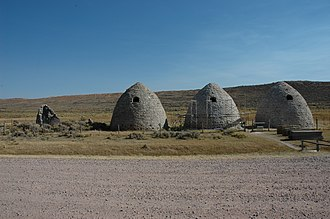 National Register of Historic Places listings in Uinta County, Wyoming - Image: Piedmont Charcoal Kilns
