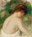 Pierre-Auguste Renoir BUSTE DE FEMME NUE.PNG