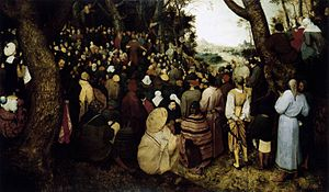 Pieter Bruegel the Elder - The Sermon of St John the Baptist - WGA3481.jpg