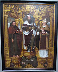 Saints Bavo, James the Great and Willibrord