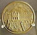 Pieter paul borner, retro della medaglia di innocenzo XII con l'ospizio apostolico di san michele.JPG