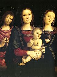 Pietro Perugino: Madonna and Child with St. John the Baptist and St. Catherine of Alexandria