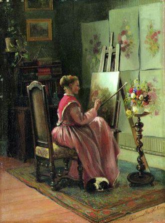 Köngen - Pietrosella Peters around 1870
