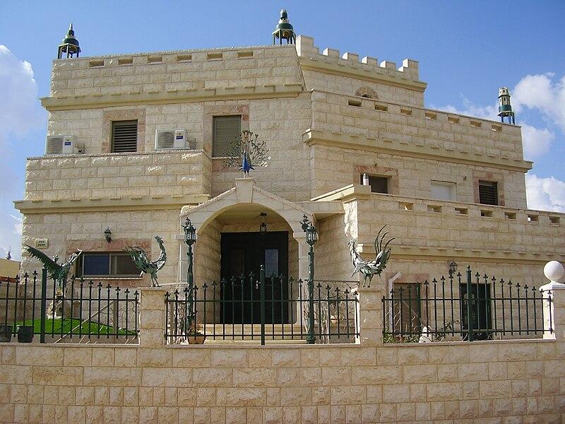 בית מקושט באלקנה
