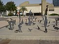 PikiWiki Israel 12036 installation of birds and people.jpg