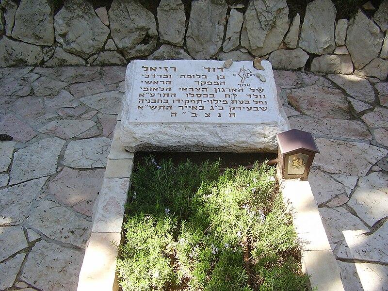 קבר דוד רזיאל בהר הרצל