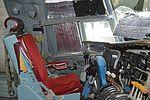Pilots seat of C-133A Cargomaster (56-1999 - N199AB) (30394674515).jpg