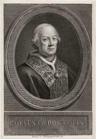 Pope Pius VI - Pius VI