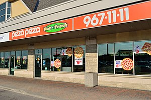 Pizza Pizza - Image: Pizza Pizza Bayview Hwy 7