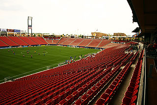 Toyota Stadium (Texas) soccer stadium in Texas