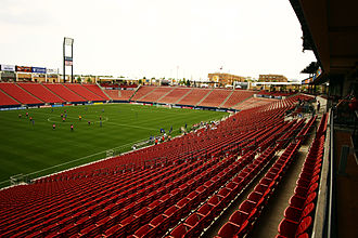 Toyota Stadium (Texas) - Image: Pizza Hut Park