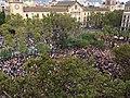 Plaça Universitat (Barcelona), 3rd October 2017.jpg