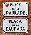 Place de la Daurade à Toulouse - Plaques.jpg