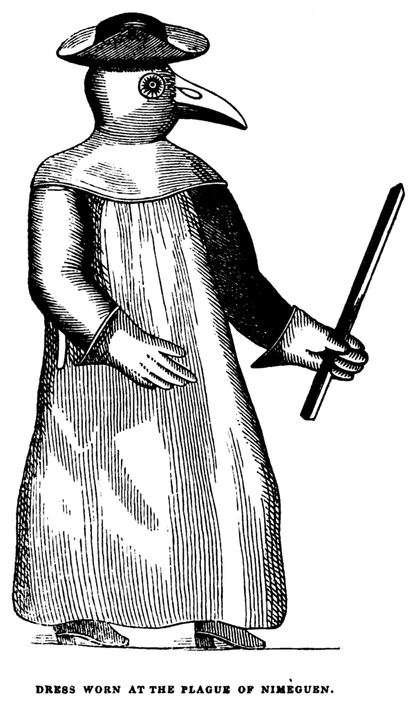 File Plague Doctor The Mirror Of Literature 1841 Png